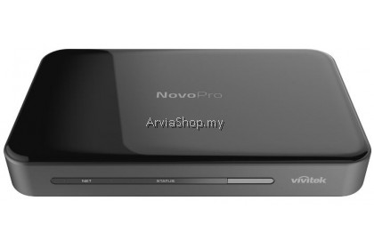 Vivitek Wireless Presentation System NovoPro NP2000US Screen Mirror FHD Simultaneous Connections up to 64 Users - Android, IOS, Mac, Windows, Chrome
