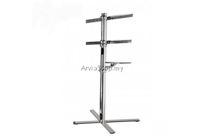 Loctek Portable TV Stand with Wheel Mount upto 32 inches - 50 inches - TS121-CHR