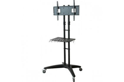 Loctek Portable Light Weight TV Stand Mount upto 32 inches-65 inches - TS114-BLK