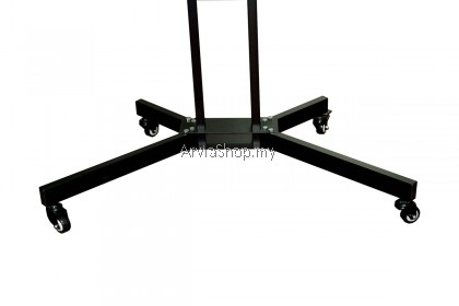 Portable TV Stand Adjustable LCD/LED Mount upto 32 inches - 55 inches - TS122-BLK