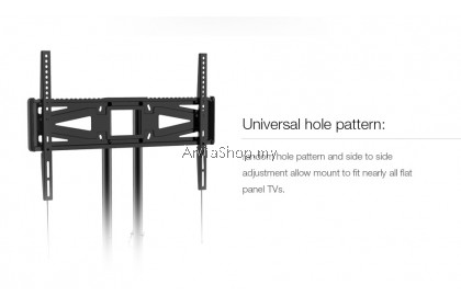 Loctek Portable Light Weight TV Stand Mount upto 32 inches-65 inches - TS215-BLK