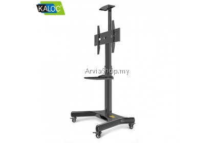 Kaloc Portable TV Stand Height Adjustment LCD TV Mount 32-65 inch  - TS161-BLK