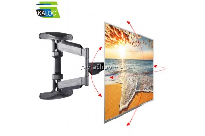 KALOC Adjustable Full Motion Ultra Slim Swivel Tilt TV Wall Mount for 40 to 70 inch -X8