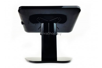 Anti-Theft Ipad Tablet Enclosure Desk Stand with Lock- TSPAD601-BLK