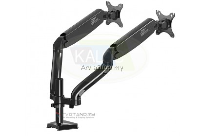 """Flexible Spring Loading Arm Stand for Screen 17"""" to 32""""- DS902-BLK"""
