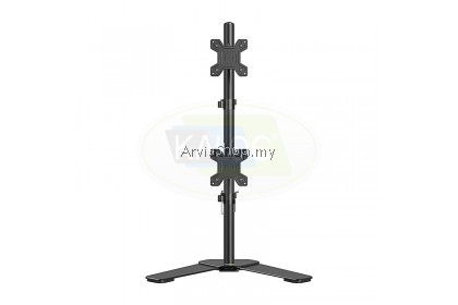 Dual-screen Height Adjustable LCD Monitor Arm 17 to 27 Inch - DW120T-BLK