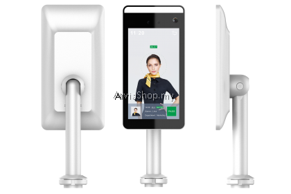 Automatic Temperature Scanner with Face Recognition