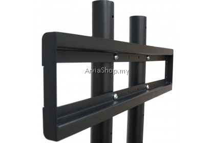 """2X Series TV Trolley Stands for 50"""" to 75""""- TS199-BLK"""